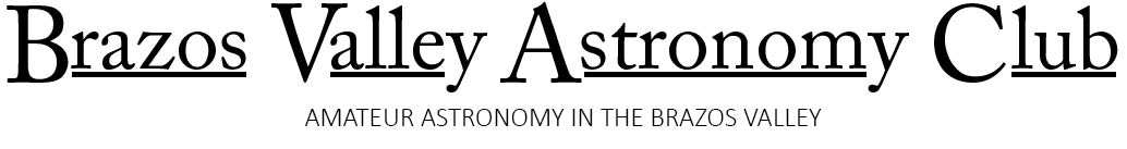 Brazos Valley Astronomy Club