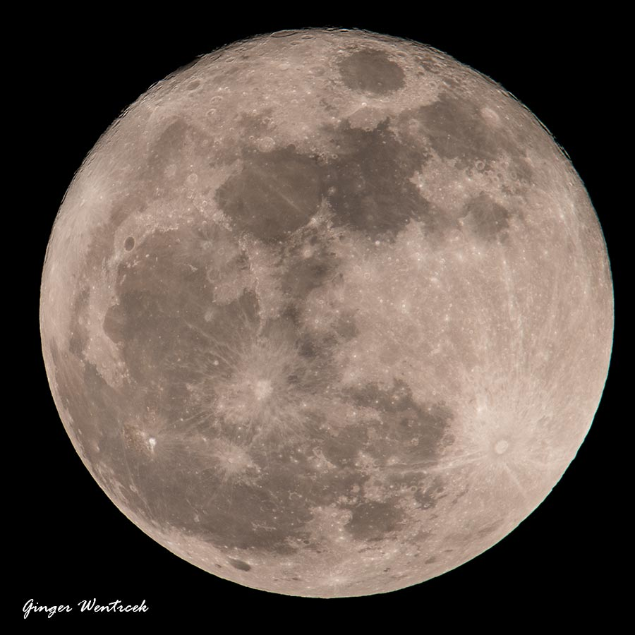 super moon 12-3-17 taken at 9:21 pm